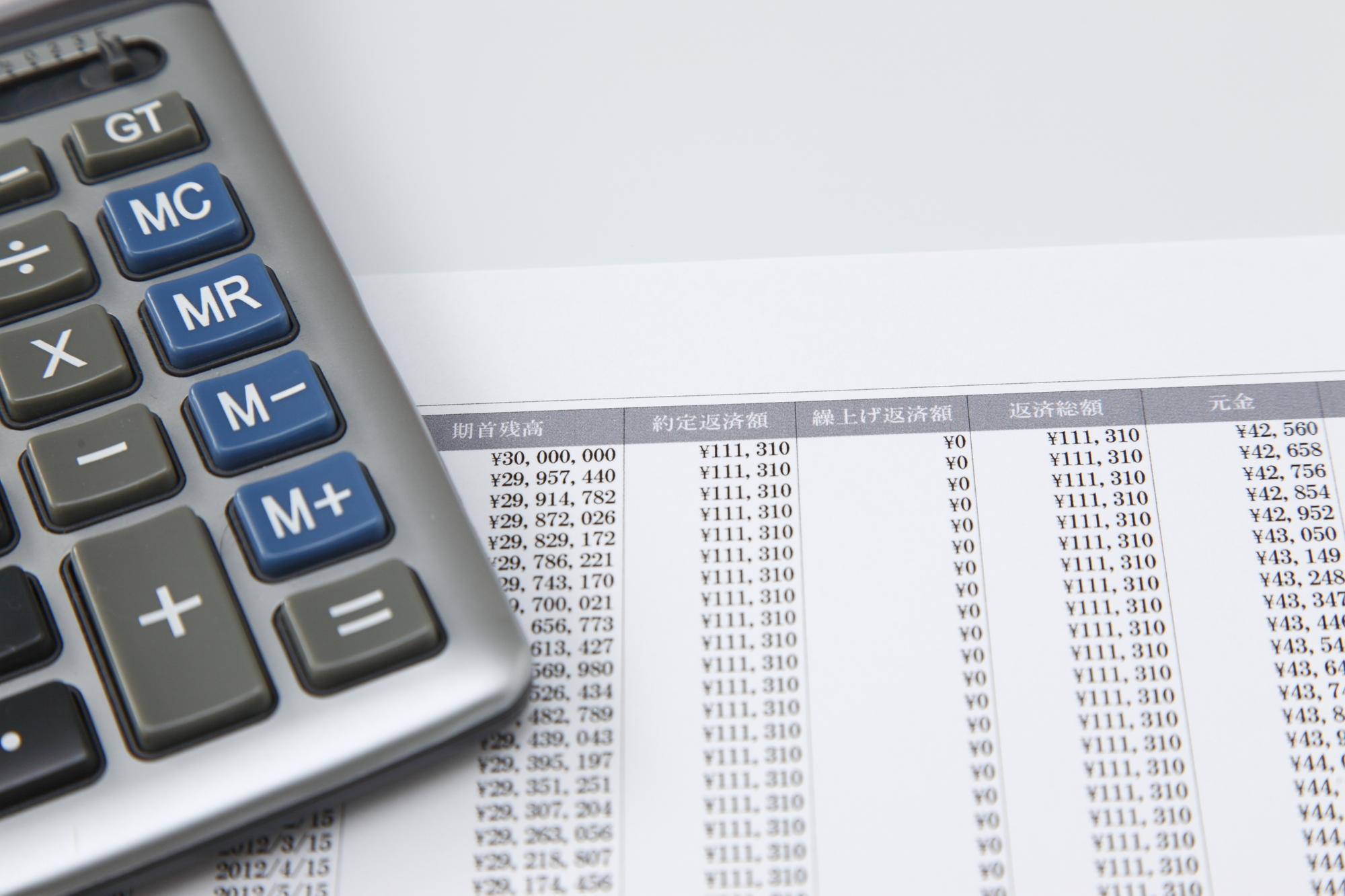 知っておきたい返済方法の計算方法。【元利均等返済】の仕組み